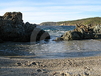 Site protégé du cap taillat, var, france
