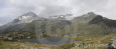 Site of the refuge of the white lake, France