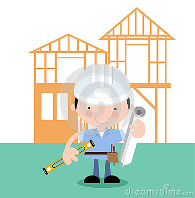 On site-surveyor,inspector,builder,architect
