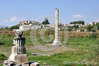 Site of the Temple of Artemis, Ephesus, Selcuk, Turkey