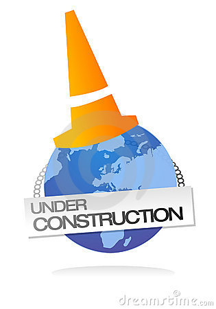 Site under construction clip art