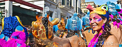 Sitges Carnival 2010 Editorial Photography