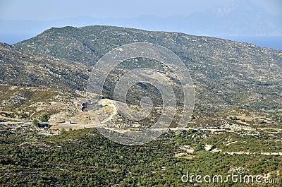 Sithonia Aegean peninsula