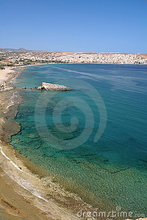 Sitia Bay view vertical