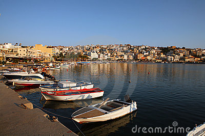 Sitia at dawn