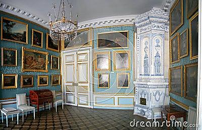 Sitio en Kuskovo Imagen de archivo editorial