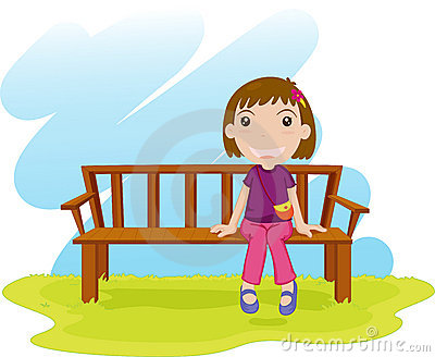 Sitting Down Royalty Free Stock Images - Image: 9865529