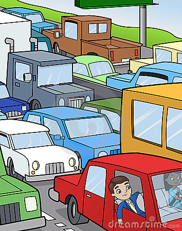 Free Sitting In Traffic Stock Photography - 15231652