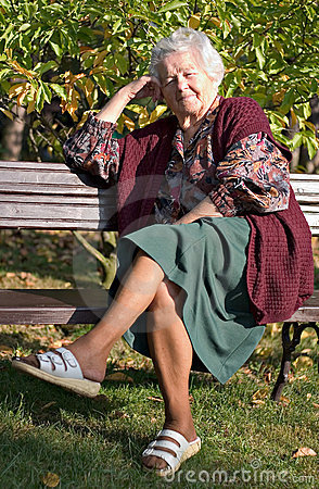 Free Sitting On A Bench Stock Photography - 480752