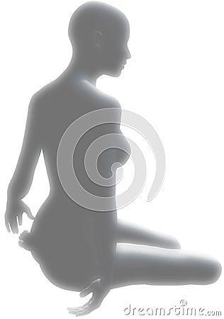 Sitting pose light