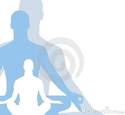 Sitting Position Yoga Figures