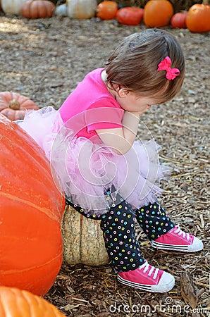 Sitting on Pumpkin
