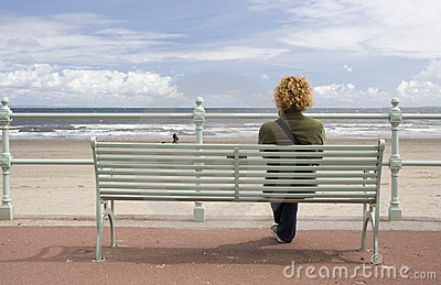 Sitting at Seafront
