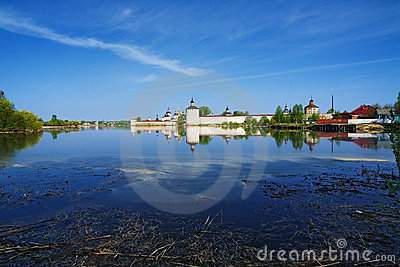 Siverskoye Lake and Kirillo-Belozersky Monastery