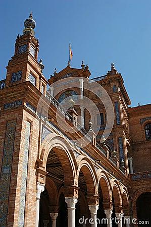 Siviglia - d Espana della plaza