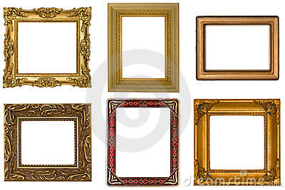 Six Antique Frames