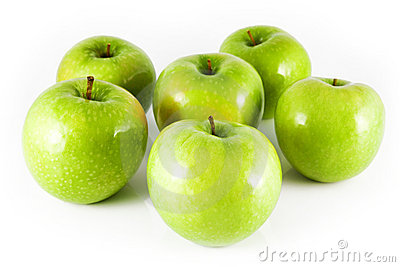 Six apples