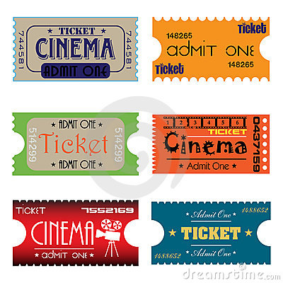 Six cinema tickets
