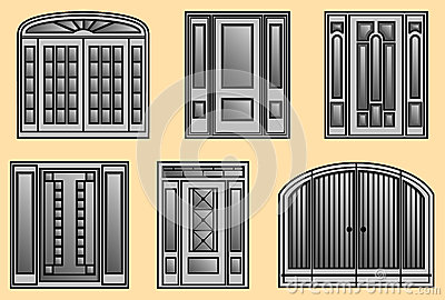 Six different kinds of Door Frames