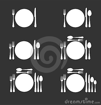 Free Six Dinner Sets Stock Images - 2960724