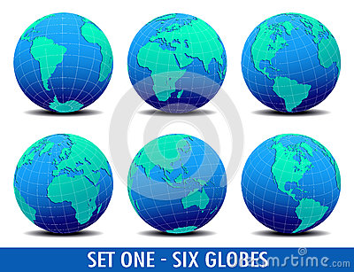 Six Global Worlds - SET ONE