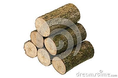 Six logs