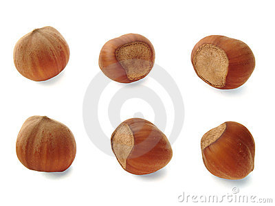 Six nuts