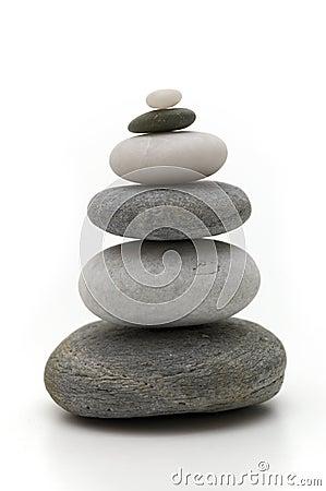 Six pebbles