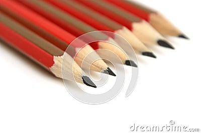 Six pencils