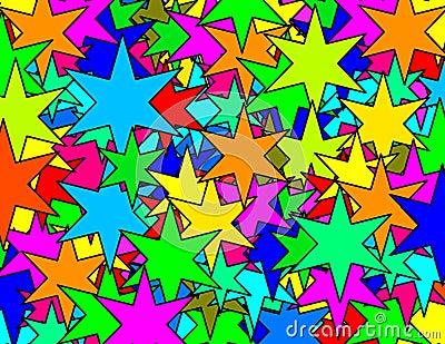 Six punks stars texture