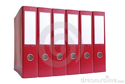 Six ring binders