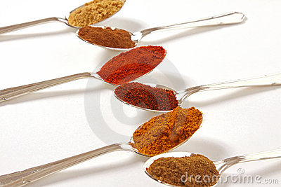 Six Spices In A Row