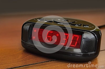 Six thirty alarm clock