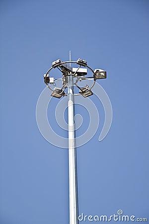 A six way street lamp