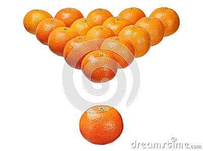 Sixteen mandarins