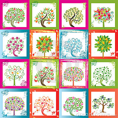 Free Sixteen Trees Stock Images - 5165274