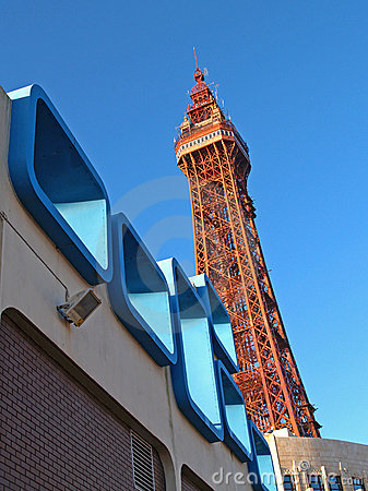 Free Sixties Architecture,Blackpool Royalty Free Stock Photo - 443595