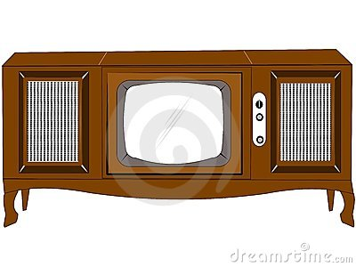 Sixties console tv