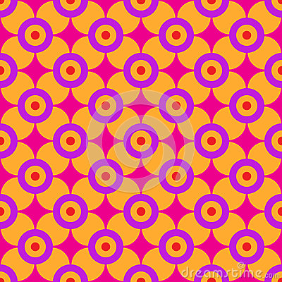 Sixties Geometric Pattern