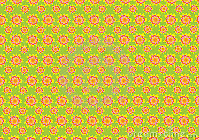 Sixties wallpaper pattern royalty free stock photography image 15658847 - Papier peint sixties ...