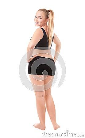 Size 40 woman