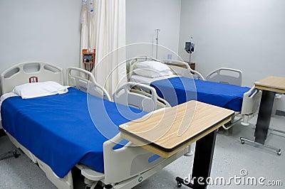 Sjukhus för 3 underlag