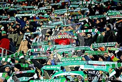 SK Rapid vs. Celtic Glasgow F.C. Editorial Photo