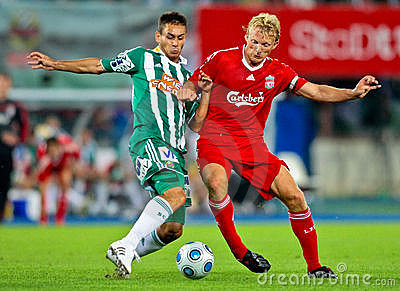 SK Rapid vs. Liverpool FC Editorial Photography