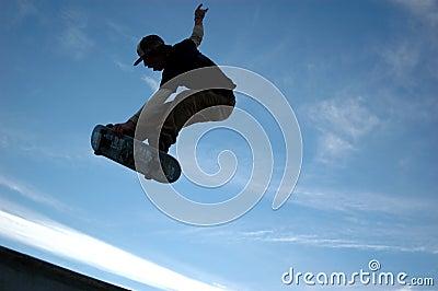 Sk8tr blue sky air