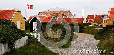 Skagen houses Denmark