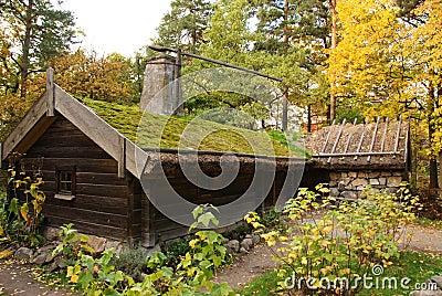 Skansen - the Hornborga cottage