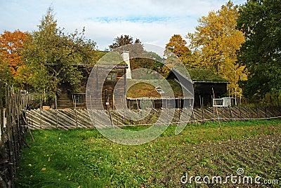 Skansen - the Kyrkhult farmhouse
