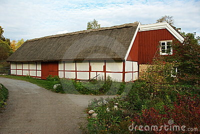 Skansen - Village hall