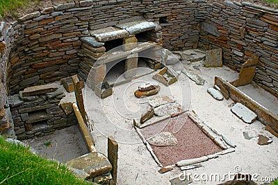 Skara Brae - Preserved neolithic house